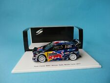 FORD FIESTA RS WRC #1 - OGIER - 1st RALLY MONTE CARLO 2017 1/43 NEW SPARK S5154