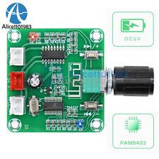 1 10pcs Bluetooth 50 Hd Power Amplifier Board Pam8403 2 Channel Stereo 25w