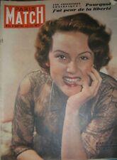 Paris Match N° 44 21 janvier 1950 Nadia Gray Sergei Malakhov 70 ans de Staline