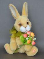 Clovis Teddy classic rabbit collection OOAK gift, 11 in OOAK by Petelina Natalia