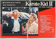 FOTOBUSTA 2, KARATE KID II The Karate Kid, Part II PAT MORITA, MACCHIO POSTER