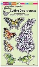 Butterflies & Lilac, High Quality Steel Die Set Stampendous - New, Dcs5093