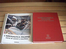 "EDITALIA ""l'aereonautica italiana"", soldatini mezzi militari"