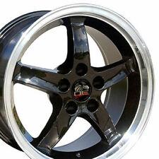 "17"" Rim Fits Ford Mustang Cobra R DD Black 17x9 Wheel"