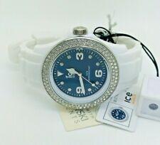 Ice-Watch IB.ST.WBE.U.S.11 Swarovski Blue Dial Silicone Ladies Watch (185B)