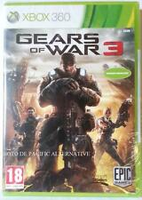 NEUF - jeu GEARS OF WAR 3 pour XBOX 360 en francais game spiel juego gioco NEW
