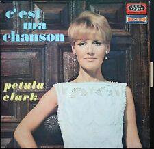 PETULA CLARK C'EST MA CHANSON 33T LP BIEM VOGUE CLD 706.30 + LANGUETTE
