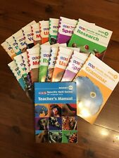 SRA Specific Skills Language Book Set Level D & E Selective OC Home School