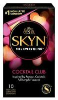 Lifestyles Skyn Cocktail Club Premium Flavored Condoms 10 Count