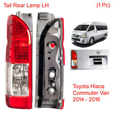 Tail Light Rear Lamp LH 1 Pc Fit Toyota Hiace Face Lift Commuter Van 2014 - 2016