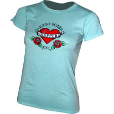 West Coast Choppers WCC Jesse James CFL Girls Women Heart Shirt Small NEW!