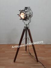 Antico CINEMA Studio Riflettore RUSTIC NAUTICO MARINO Lampada Home Decor