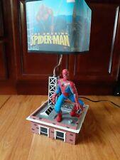 Marvel Spiderman Side Table Desk Lamp Kids Childs Room Home Decor
