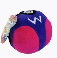 "Pokemon Master Ball Plush Weighted Bottom Poke Ball New 4"""
