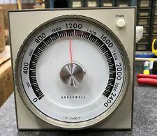 HONEYWELL TEMPERATURE CONTROLLER  0-2400ºF  R73549A 1053