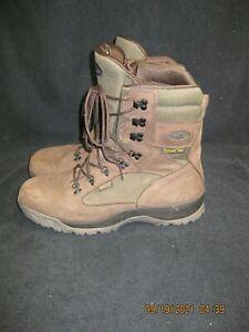 Vintage Brown Vasque Skywalk GTX Gore-tex Leather Hiking Boots Men Size 14M