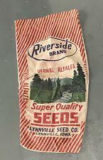 Vintage Riverside Brand Feed Bag