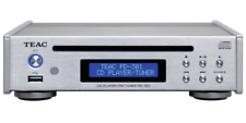 Teac PD-301DAB-x | silber | CD-Player, USB-Medienplayer und UKW-Tuner