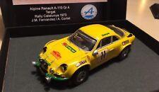 Renault Alpine A110, Gr.4, Rallye Catalunya 1973, factory RTR, ultra RARE!