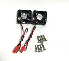2 High Speed Cooling Fan 30x30mm ESC 1:10 1:8 SC TRAXXAS CRAWLER SC On Off Road