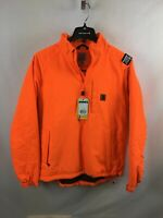NEW Carhartt 8-Point Rain Defender® Hi-Vis Orange Jacket 102699-822 8 Size M REG