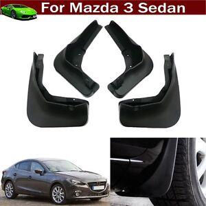 Car Mud Flaps Splash Guards Fender Mud Guards for Mazda 3 Sedan 2014-2021