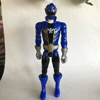 "Power Rangers Super Megaforce 12"" Blue Ranger Figure 2013 Bandai"