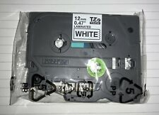 New Genuine Brother P Touch Tze 231 Laminated Label Tape 12 Mm