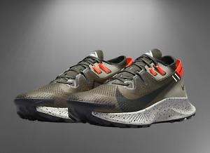 Nike Pegasus Trail 2 Cargo Khaki Olive Green 9.5 CK4305 301 Running Shoes Hiking