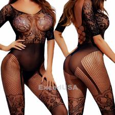 Sexy-Lingerie-Women-Sleepwear-Stocking-Babydoll-New-Chemise-Nightwear-Underwear