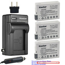 Kastar Battery Travel Charger for Canon LP-E8 LC-E8 & Canon EOS 700D Camera
