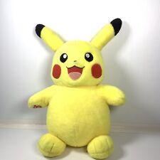 "Pikachu Pokemon - Build a Bear Workshop, BAB, BABW, stuffed plush animal 18"""