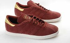 Adidas Originals Tobacco fox brown metallic gold  M17883 mens suede trainers