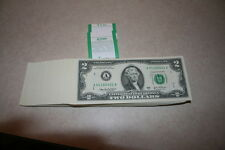 2003A DISTRICT 1 { A } $2 FRN NOTES CU NEW BILLS IN SEQUENCE & VERY HARD TO FIND