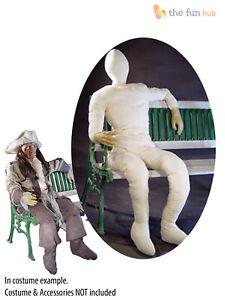 Lifesize Stuffed Human Dummy Mannequin Halloween Fancy Dress Prop Decoration