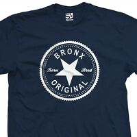 Bronx Original Inverse T-Shirt - Born Bred in The Boogie Down - All Sizes Colors