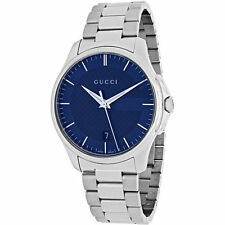 Gucci Men's Stainless Steel Case Analogue Watches