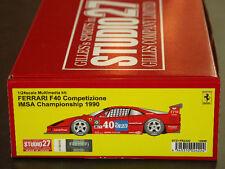 Studio27 FR2422 1:24 Ferrari F40 Competizione IMSA Championship 1990 resin kit