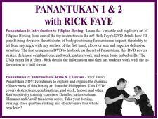 Panantukan 1 & 2 (2) Dvd Set filipino boxing strikes defenses combinations hubud