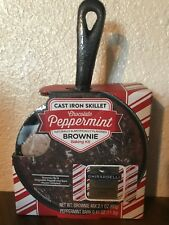 Cast Iron Skillet Chocolate Peppermint Brownie Baking Kit Set Ghirardelli