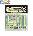 Pinecar Dry Transfer Decals Racer Accents PIN4014