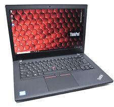 Lenovo Thinkpad T480 IPS Laptop: 8th Gen Core i5, 256GB SSD, 8GB RAM, Warranty