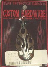 IMAGE MOTORCYCLE PRODUCTS FLAME CUSTOM ZIPPER PULLS-KEYCHAINS-PENDANTS