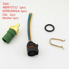 Audi A3 A4 A6 Q3 059919501A Sensor Plug Cable Cooling Water Temperature Switch