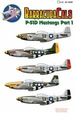 Barracuda Decals 1/32 North-American P-51D Mustangs of the 8th Air Force Part 1