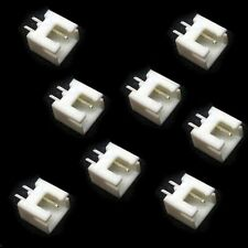 100pcs/lot, White XH2.54 2.54MM XH-2A straight pin socket XH-2P