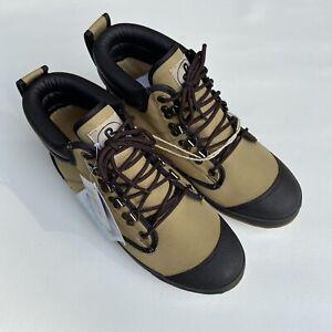 Pro Line Men's Wading Boots Shoes Tan & Brown W295D SZ 10