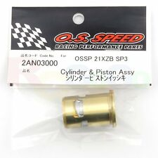 CYLINDER & PISTON ASSY OS SPEED 21XZ-B SPEC III # OS2AN03000 O.S. Engines Parts