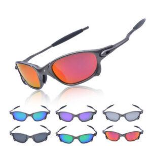 X-Metal Juliet Cyclops Cycling Sunglasses Goggles Ruby Polarized Lenses Titanium