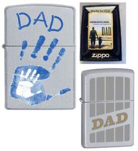 Dad Zippo Lighters    (Life Time Guarntee) USA